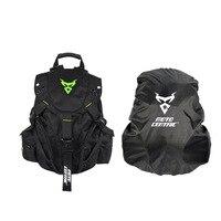 Black Motorcycle Backpack Top Racing Moto Bag Multi function Backpack Motorbike Bag Knight Package High Quality