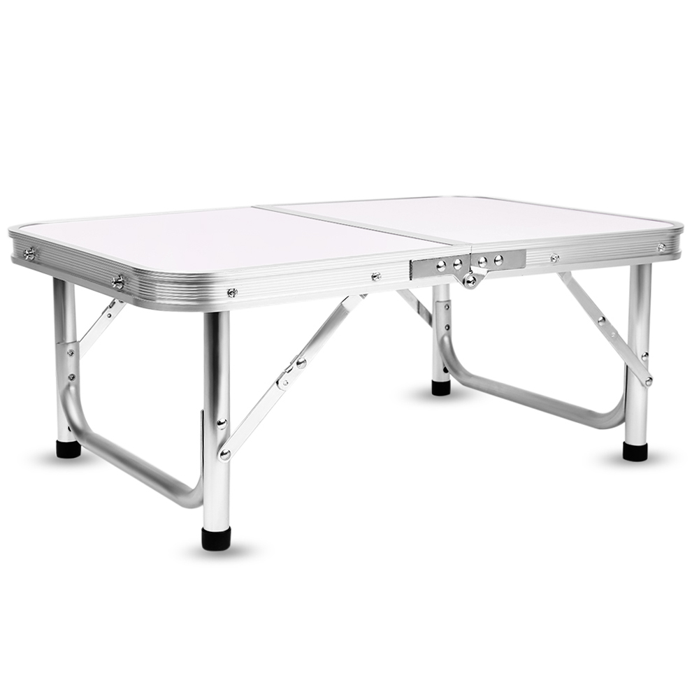 Aluminum Folding Camping Table Laptop Bed Desk Adjustable Outdoor Tables BBQ Portable Lightweight Simple Rain-proof  GG