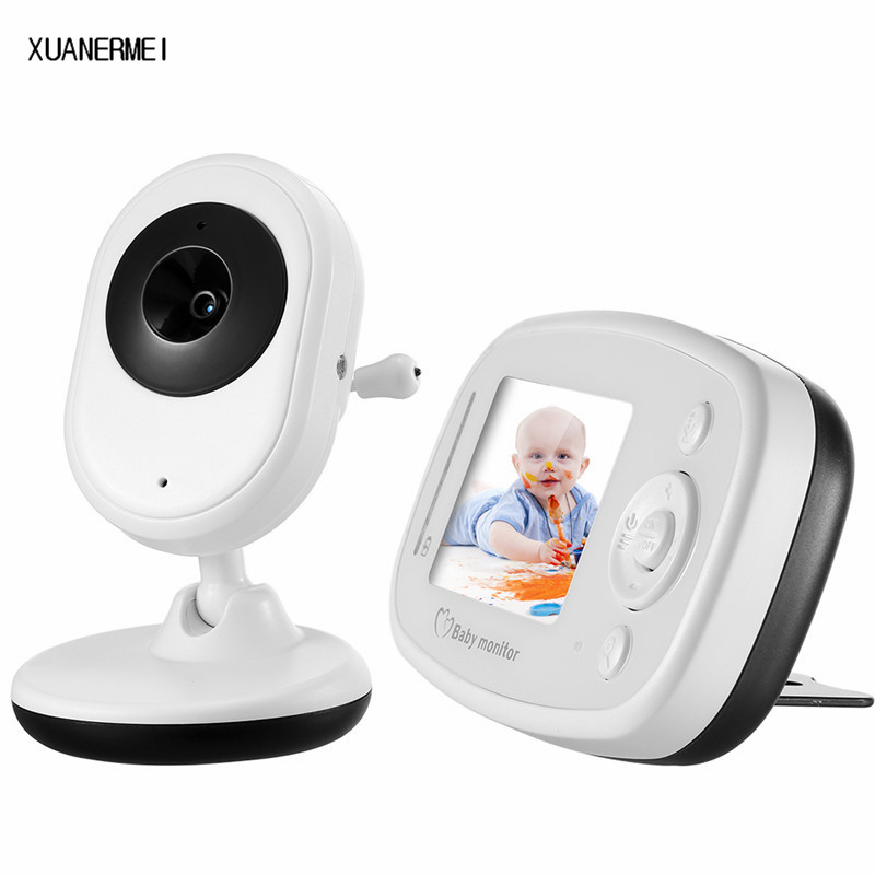 Xuanermei Baby Monitor electronics video baby monitors 2.4 inch IR Night vision 2 way talk 4 lullabies Temperature monitor help your baby talk
