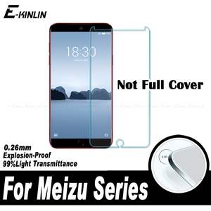 0.26mm 2.5D Screen Protector For Meizu 15 Lite 16th Plus 17 16 X 16s Pro 16Xs Tempered Glass Protective Guard Film