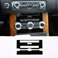 Black ABS Central Control CD Air Conditioning Panel For Land Rover Range Rover Sport 2012 2013 Car Accessories