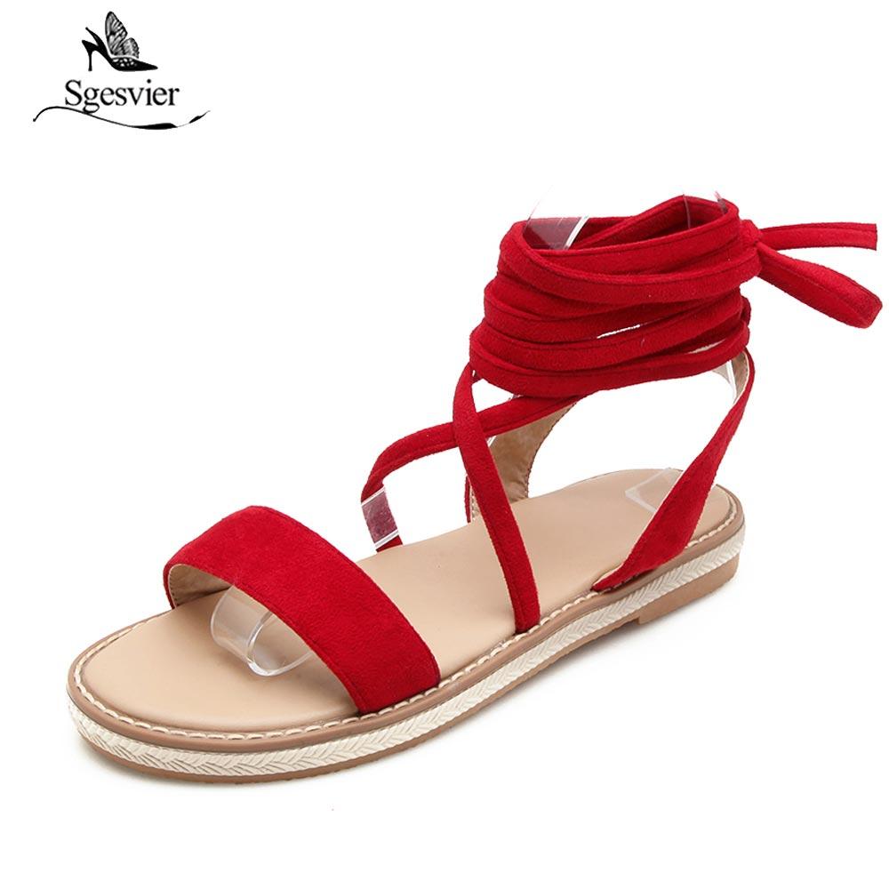 SGRSVIER Woman Casual Shoes Flat Shoe Ladies Flip Flops Sandals Women Sandals  Roma Cross strap Sandals Summer B172
