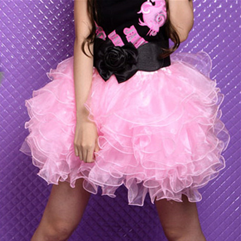 New Sexy Ladies Tutu Skirt Women Dance Organza Ballet Ball Short Mini Skirt Petticoats Corset Skirts Burlesque Girls Mini skirt