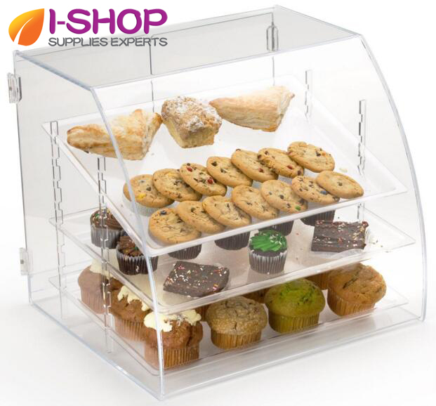Clear Acrylic Food Dispenser/plexiglass Food Storage Box/lucite Cookies  Storage Case