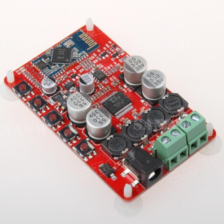 TDA7492P Bluetooth power amplifier board Bluetooth audio receiver amplifier Bluetooth CSR4.0 digital power amplifier board