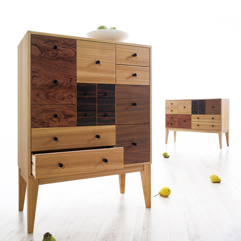 Mu Fei Creative Home Parquet Living Room Dining Bedroom Furniture Korean Style Side Cabinet Drawers Dresser Td12 In Sideboards From On