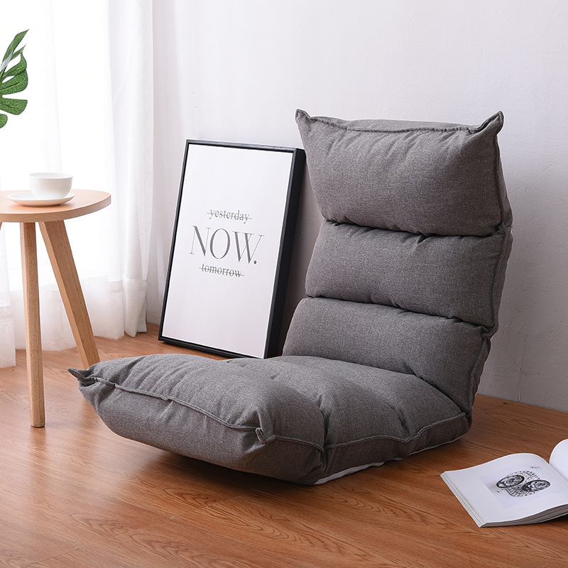 US $85.14 14% OFF|Comfortable Chaise Lounge Chairs Floor Seating Living Room Furniture Sofa Chair 14 Position Adjustable Reclining Lounge Daybed|sofa