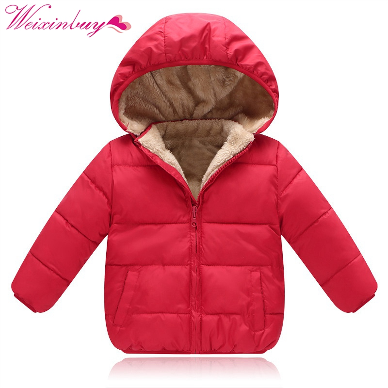 2017 Winter Warm Down Jacket Coat Baby Boys Girls Outerwear Coats Fashion Down Jacket for Boys Girls Coat Parkas children winter coats jacket baby boys warm outerwear thickening outdoors kids snow proof coat parkas cotton padded clothes