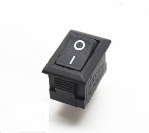 20pcs 2 feet 2 gear small rocker switch for power appliance kcd11 xw