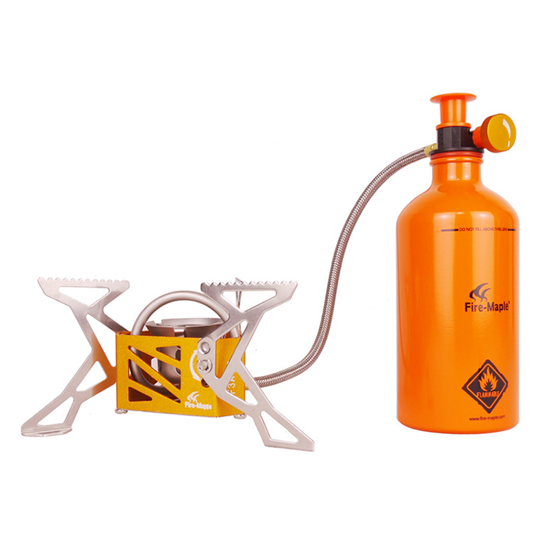 все цены на Fire-maple Outdoor Cooking Stove Camping Stove Gas Burner Camping Hiking Cookware Gas Bottle Included 321g FMS-F3