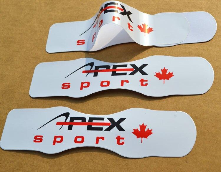 Пользовательские виниловые наклейки ПВХ наклейки с вашим логотипом для автомобилей лодки шлемы доски для серфинга металлический пластик