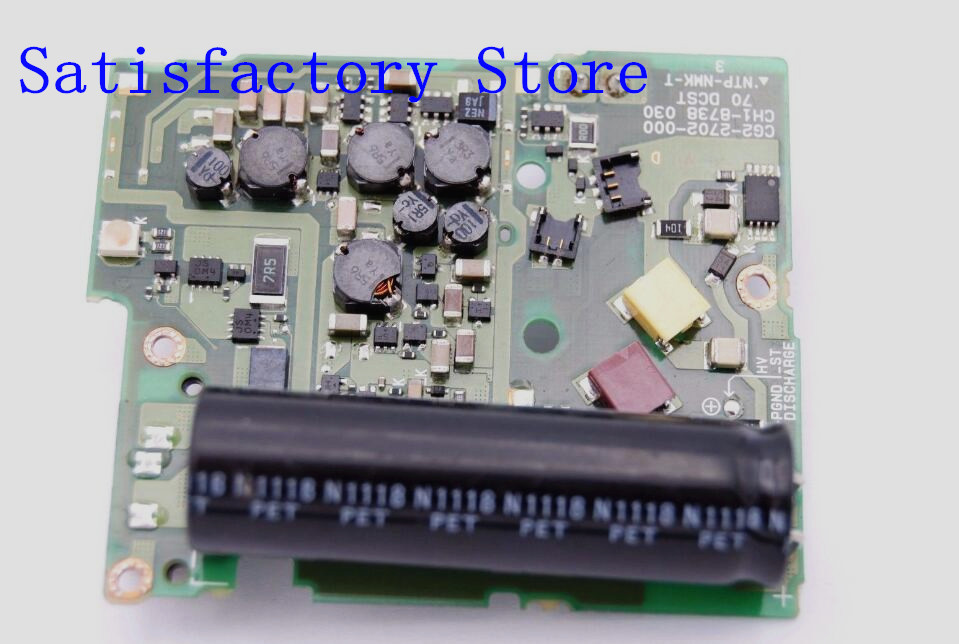 Original 550D T2i Kiss Digital X4 DC/DC Power Board Flash Board For Canon 550D T2i Kiss Digital X4 Camera Parts