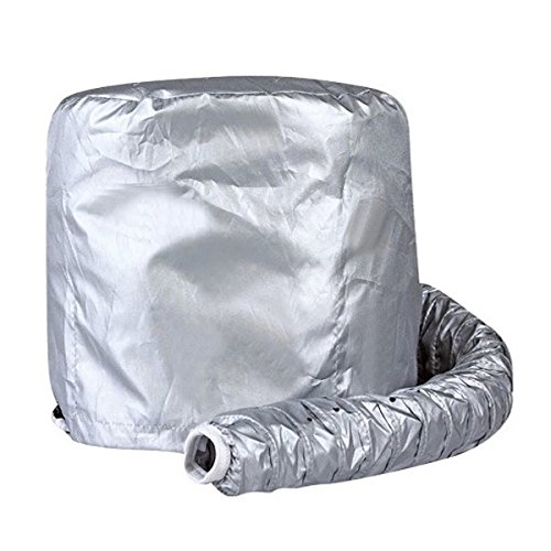 Портативный, безопасный женский головной убор Фен Мягкий капот насадка для волос Парикмахерская шляпка для укладки волос Девушка шапка