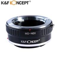 K & F концепция Крепление объектива адаптер для minolta md объектив Sony NEX E-Mount Камера для Sony NEX-3 NEX-3C NEX-5 NEX-5C NEX-5N NEX-5R