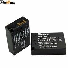 LP-E17 LPE17 LP E17 Camera battery 7.4V 1300mAh  Bateria for Canon EOS M3 750D 760D T6i T6s 8000D Kiss X8i