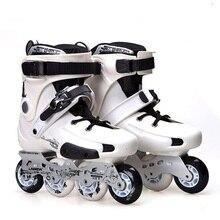 Labeda FRM Slalom Inline Skates 4 Wheels Adult Skating Shoes With Rocking Type PU Wheels For Free Skating Sliding Street Skating