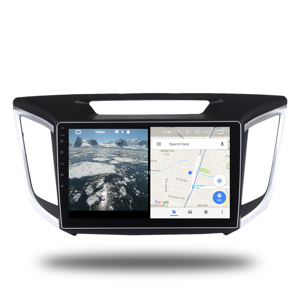 Car 2 din radio android 7.1 GPS Navi for Hyundai creta IX25 autoradio navigation head unit multimedia video play stereo 2Gb Ram