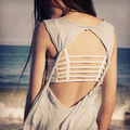 Women Sexy Bralette Bralet Crop Top Cage Caged Back Cut Out Padded Bra bralette