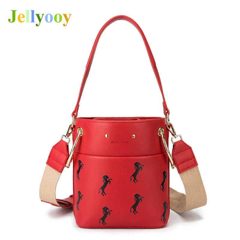 Unique Channel Design Bucket Shoulder Bag Crossbody Bags for Women Fashion Star Show Leather Handbags Lady Tote Bag Sac A Main women bag shoulder bag falabellas tasche with 3 chains evening bolso socialite tote fashion sac a main lady torba cx258