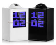 Big discount Creative Fashion Projector LED Alarm Clock Projection Clock with Calendar Thermometer & Free Shipping