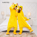Unixes pikachu pokemon anime pijamas kigurumi pijamas animal cosplay cos fancy dress envío gratis 03