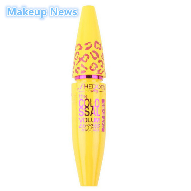 Brand New Makeup Volume Express COLOSSAL Mascara With Collagen Cosmetic Extension Long Curling Waterproof Eyelash Black 4