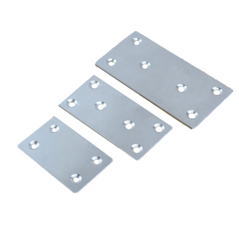 4pcs stainless steel corner code connector board plane connection code flat plate table chair flat Angle code word fixed piece4pcs stainless steel corner code connector board plane connection code flat plate table chair flat Angle code word fixed piece