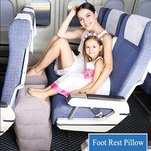 OLOEY многофункциональная детская подушка, Детская Надувная подушка для путешествий, подушка для ног, для детей, для сна, подставка для ног на самолет, автомобиль, автобус
