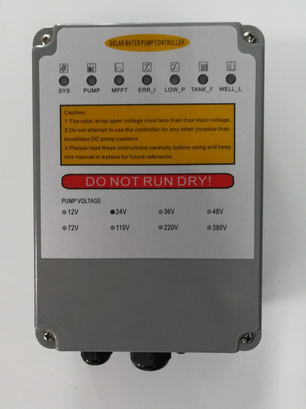 3years Warranty  Controller For Solar Pump