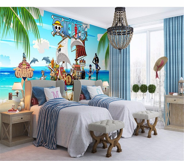 3d Murals Custom Personalized Wallpapers One Piece Theme Backgrounds