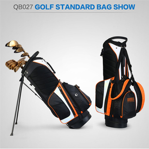 Image 3 - Pgm Portable Golf Stand Bag Golf Bags Men Women Waterproof Golf Club Set Bag With Stand 14 Sockets Outdoor Sport Cover Bag D0069