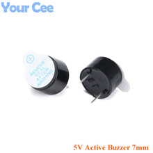 10pcs 5V Active Buzzer Alarm Sounder Speaker High Temperature Resistance Electromagnetic SOT  Height 7mm
