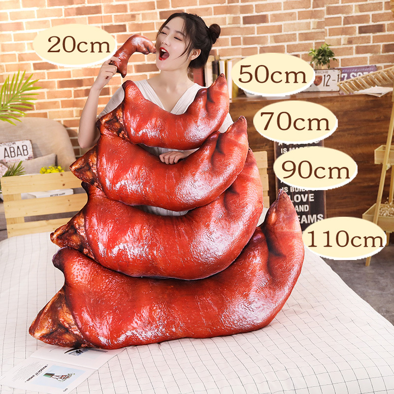 2019 Creative Trotters Pattern Cushions Throw Pillow Waist Back Cushion Home Sofa Bed Decor Dolls Toys Almofadas Home Textile
