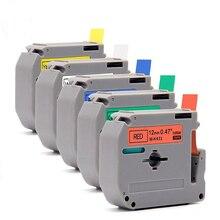 10 шт./лот Mk231 Mk631 MK431 MK 531 MK-731 M лента для Brother P touch принтеры pt-60 pt-70 pt-80