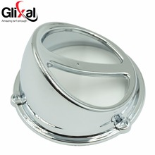 Glixal High Performance Chrome Fan Cover Air Scoop Cap Gy6 125cc 150cc Chinese Scooter 152QMI 157QMJ Engine