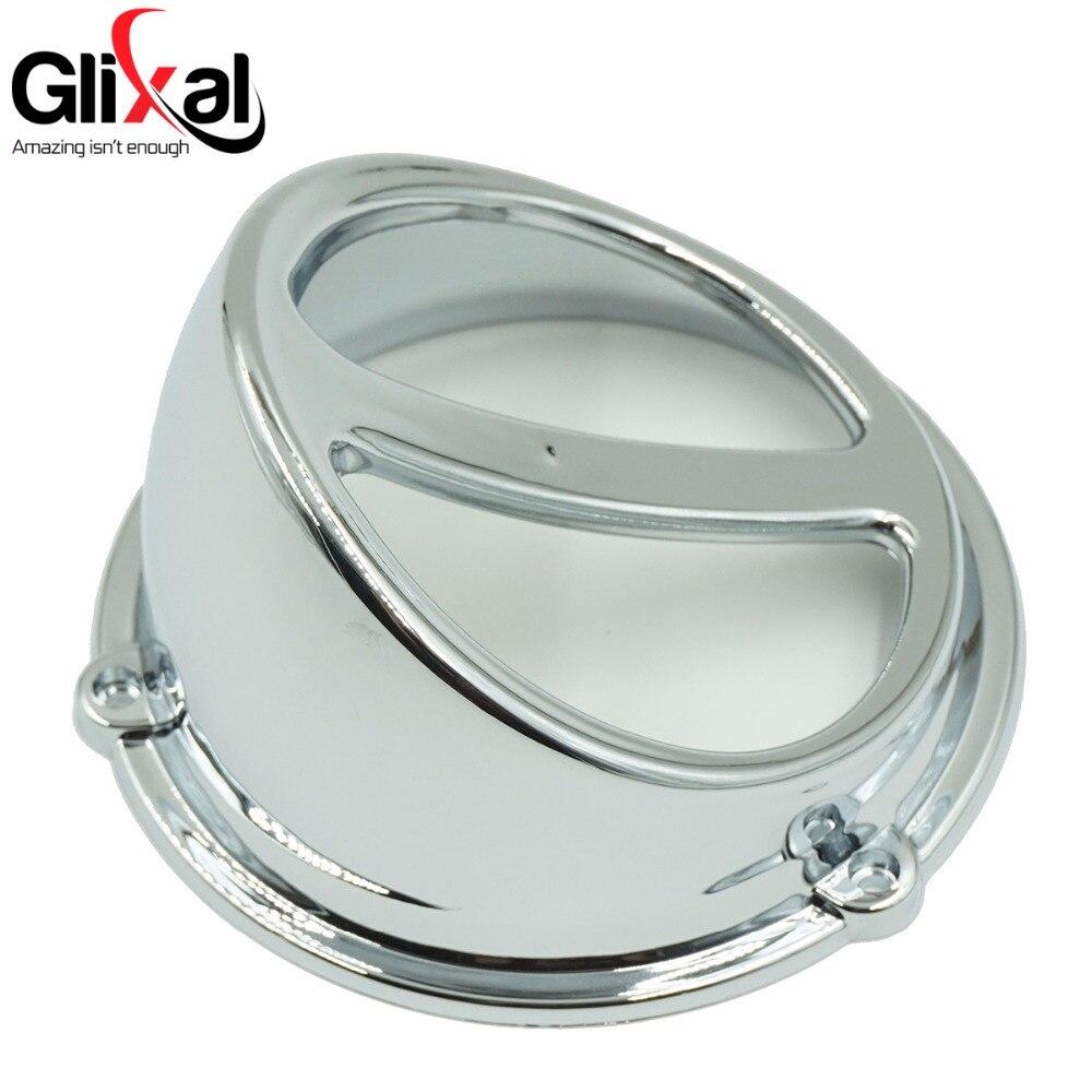 Glixal высокопроизводительный хромированный кожух вентилятора, воздушная крышка, Gy6, 125 куб. См, 150 куб. См, китайский скутер, двигатель 152QMI 157QMJ