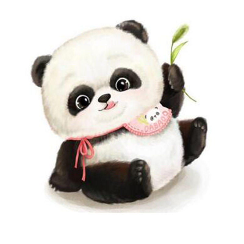 Cute Panda Painting