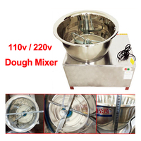 Dough Mixer 220V/110V 30kg HMP 30 Commercial stainless steel Mixer Automatic Stirring Mixer the Pasta Machine Dough Kneading 1pc