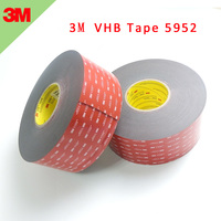 5pieces/lot 3M 5952 VHB Double Sided Tape 1.1MM Heavy Duty Adhesive Acrylic Foam Black Tape Good For Car Camcorder DVR Holder