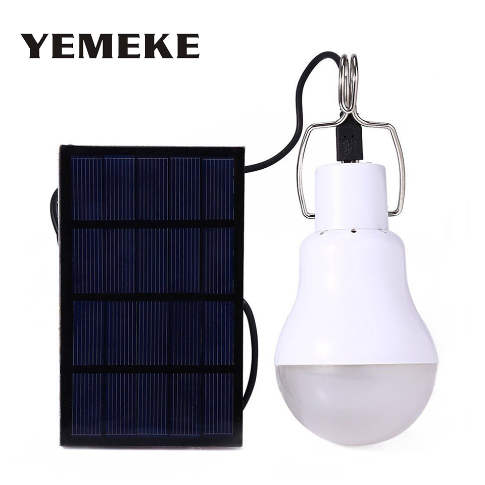 NEW 15W Solar Panel LED Light Power 130lm Outdoor Lamp Spotlight Garden For Lighting