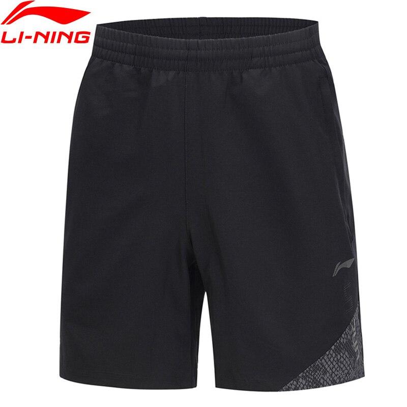 Streng Li-ning Männer Laufende Serie Sport Shorts 92% Polyester 8% Spandex Regelmäßige Fit Futter Sport Shorts Bottoms Aksp029 Jfm19 Wasserdicht Lauf StoßFest Und Antimagnetisch Sport & Unterhaltung