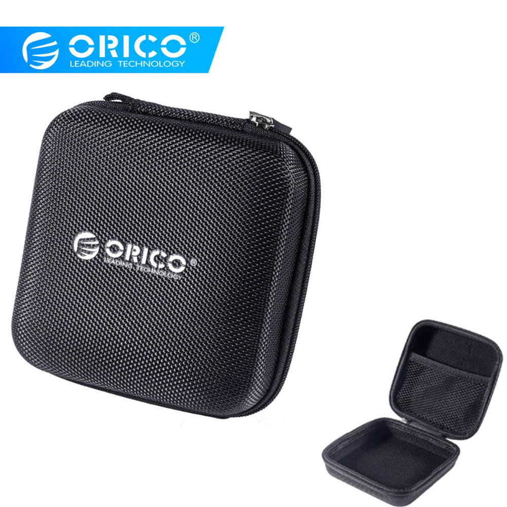 ORICO Headphone Case Bag Hard Accessories Storage Bag Organizer For 2.5-inch hard drive Earphone Accessories USB Cables