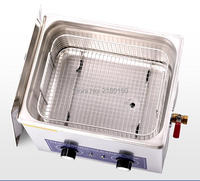 240W 10L Watch Cleaning Machine 220V Jewelry Ultrasonic Cleaner Home Appliance Cleaning Machine PS 40