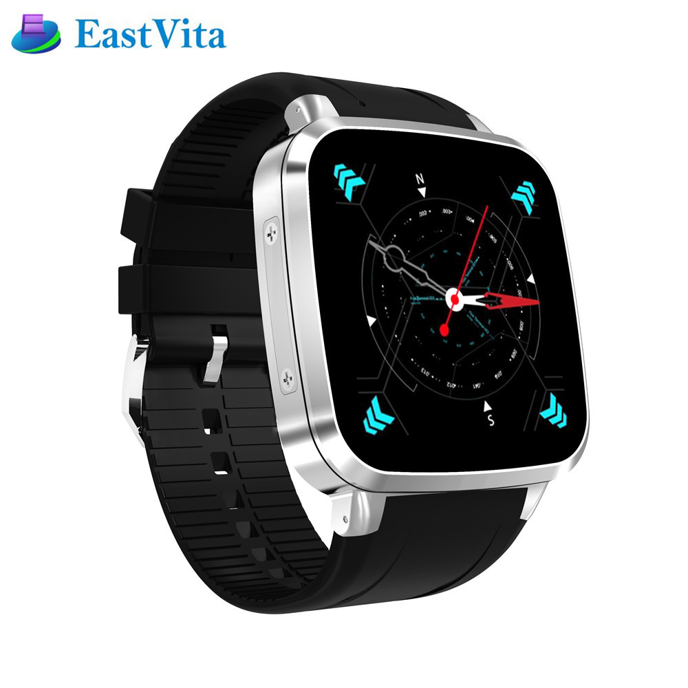 EastVita N8 Smart Watch Android 5.1 512MB Ram 8GB Rom GPS WiFi Bluetooth 4.0 Smartwatch Pedometer Camera 5.0M Smart Watch SB03 itormis smart watch bluetooth smartwatch quad core android 5 1 sim tf card mtk6580 rom 8gb ram 512mb s1 plus wifi gps camera