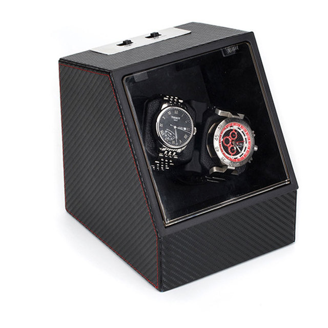 High Quality Shaker Automatic Mechanical Watch Box Collection Storage Box Watch Organizer Boxes Holder Watch Winders US Plug | Watch Boxes