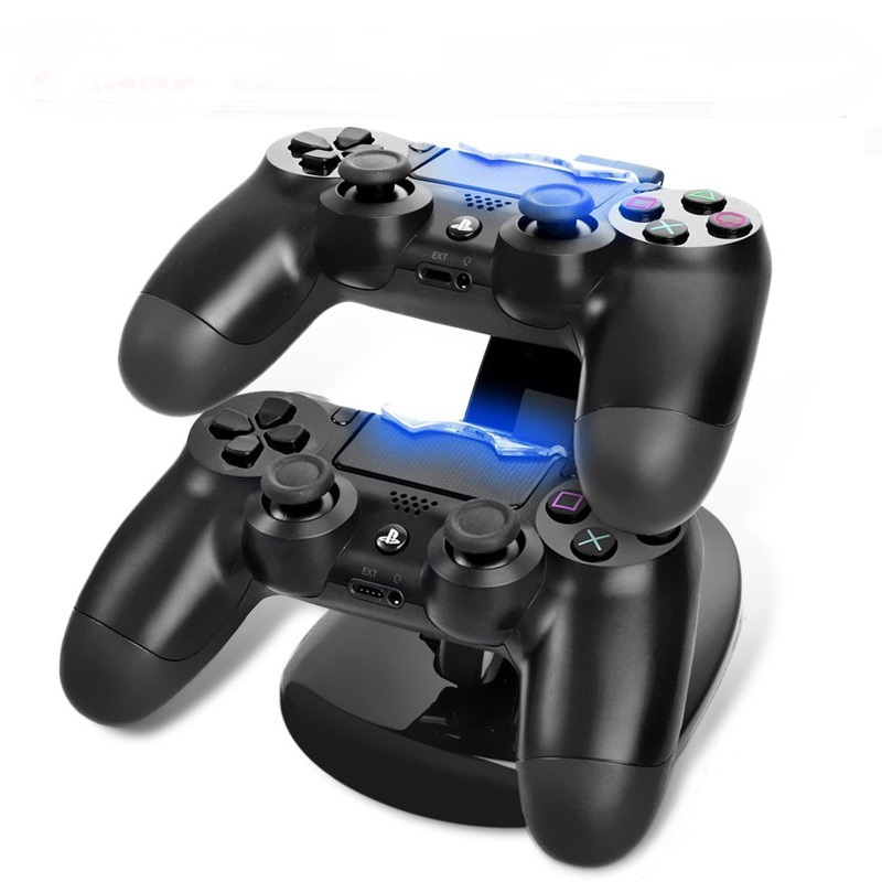 Dual Usb Controller Ladegerät Dock Led Ps4 Ladestation Station Cradle Für Sony Playstation 4 Ps4/ps4 Pro/ Ps4 Slim-controller