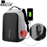 Multifunction USB Charging Men 15inch Laptop Backpacks For Teenager Fashion Women Mochila Leisure Travel Backpack Anti