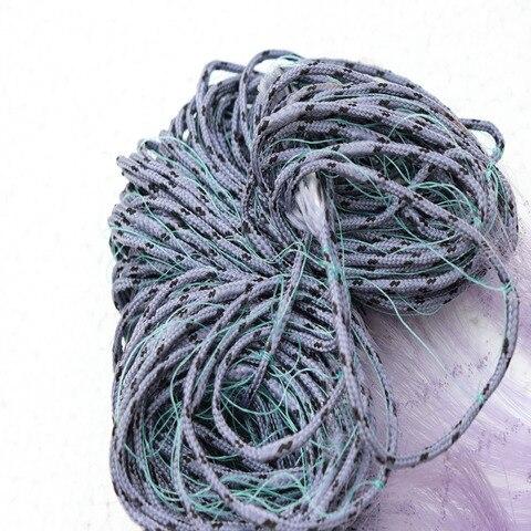rede de pesca de malha pegar lance pequena mosca rede