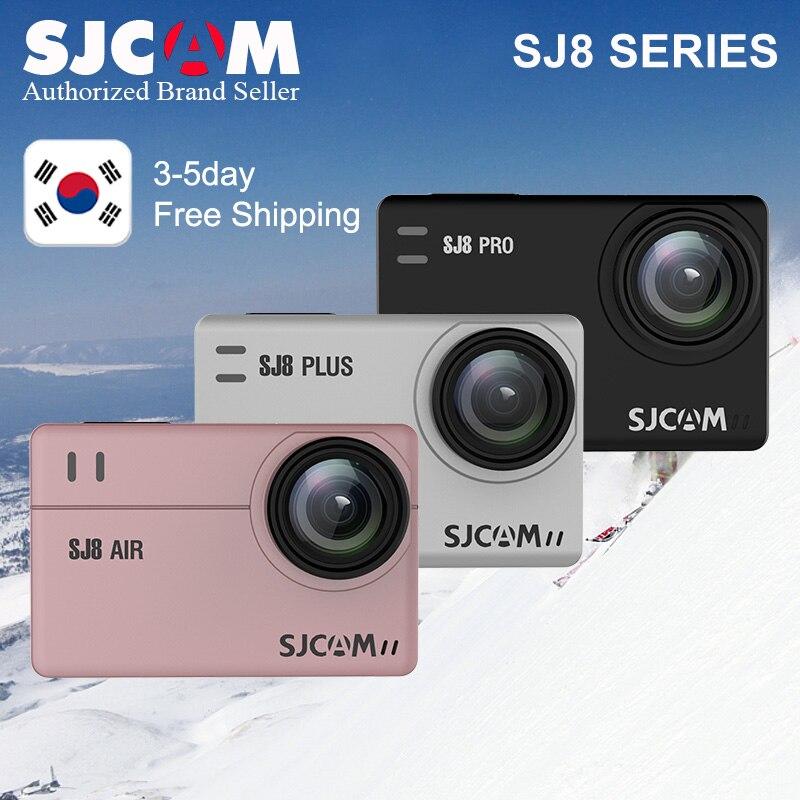 SJCAM SJ8 Pro SJ8 Série 4 K 60FPS WiFi À Distance Casque caméra d'action Ambarella Chipset 4 K/60FPS Ultra HD sports extrêmes caméra de recul