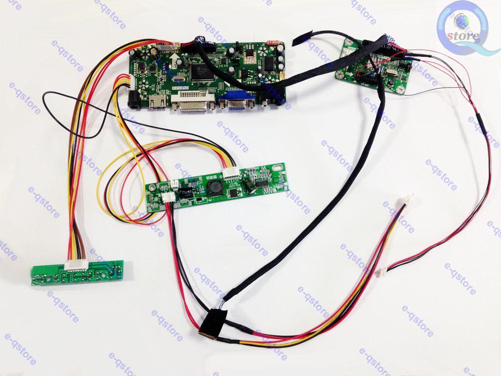 NT68676 HDMI DVI VGA Audio EDP Converter LCD controller Board Driver kit HDMI DVI VGA Inputs